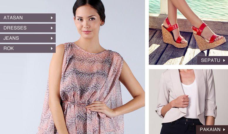 Fashion Wanita | ZALORA Indonesia | Free Ongkir