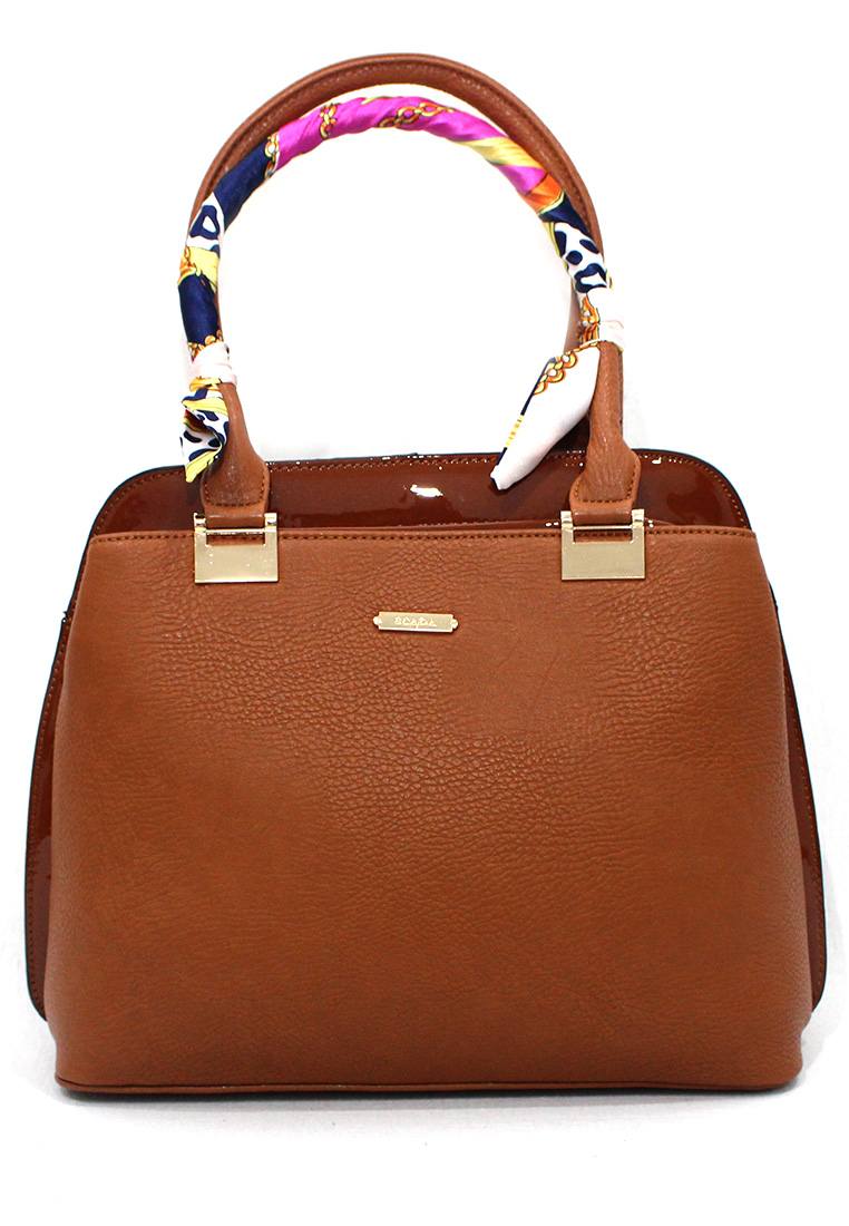 Janette Handbag - Brown