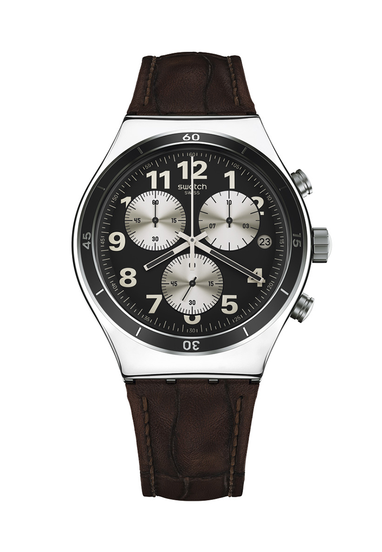 Swatch Jam Tangan Pria Hitam Emas Strap Suob126 Seeing Circles Original 100  Sutb400 Sistem Black Trendy Source