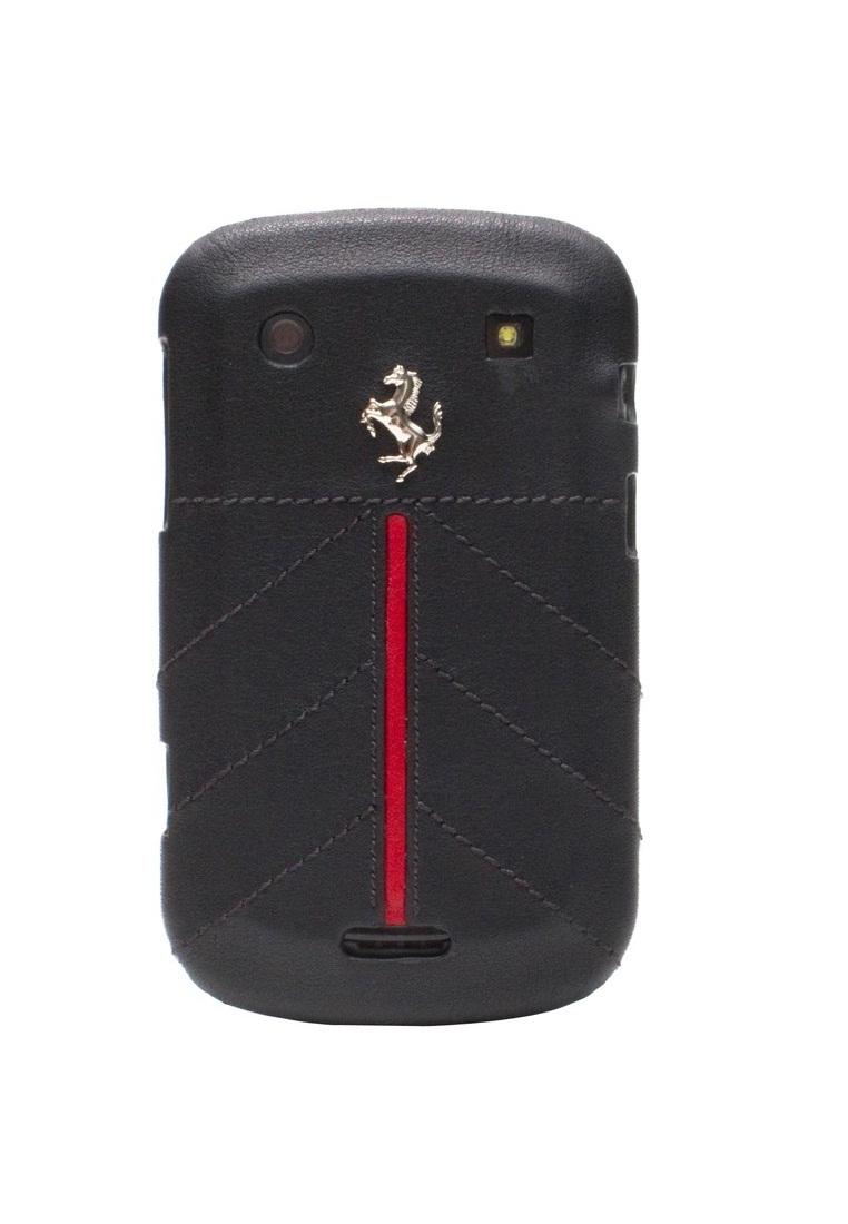 Ferrari Farrari Hard Case Racing Carbon PU Leather For BB FECFBL Black.