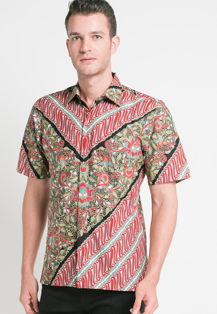 Baju Batik Semar Lengan Pendek Terbaru