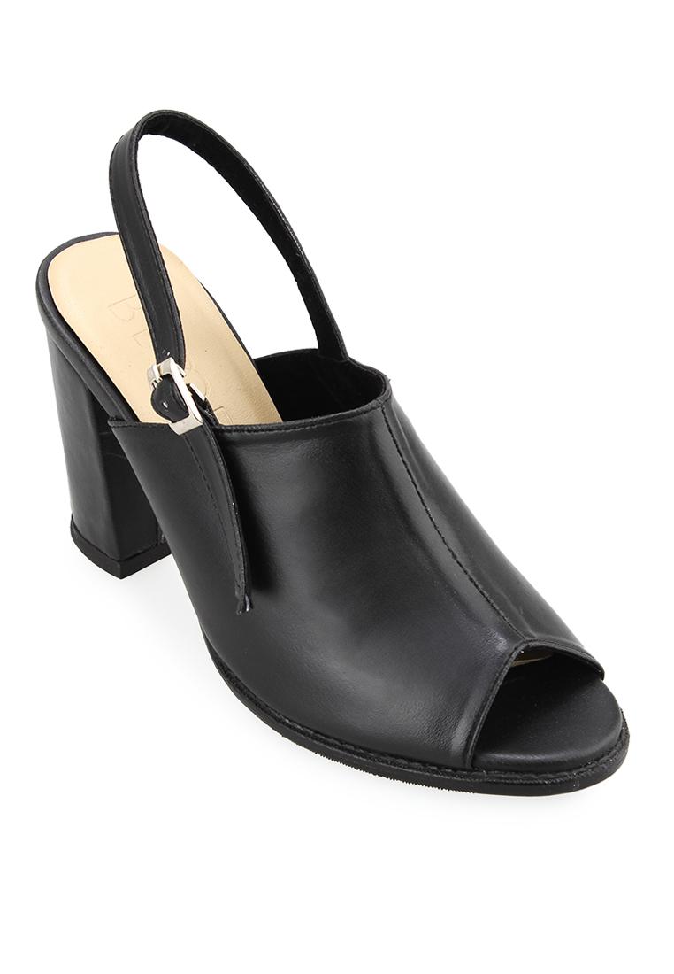 Bloop Bloop Shoes Winston Heels Black BLP-OI037 F
