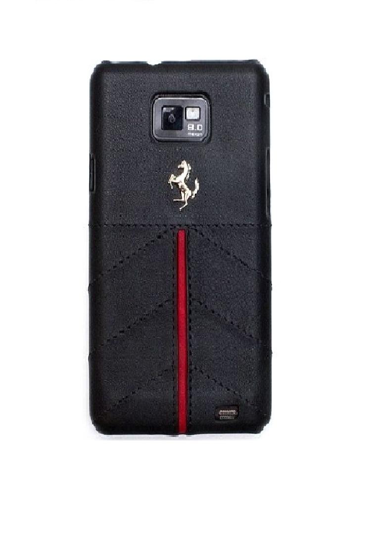 Ferrari Ferrari Hard Case FECFGS2B For Samsung SII - Black