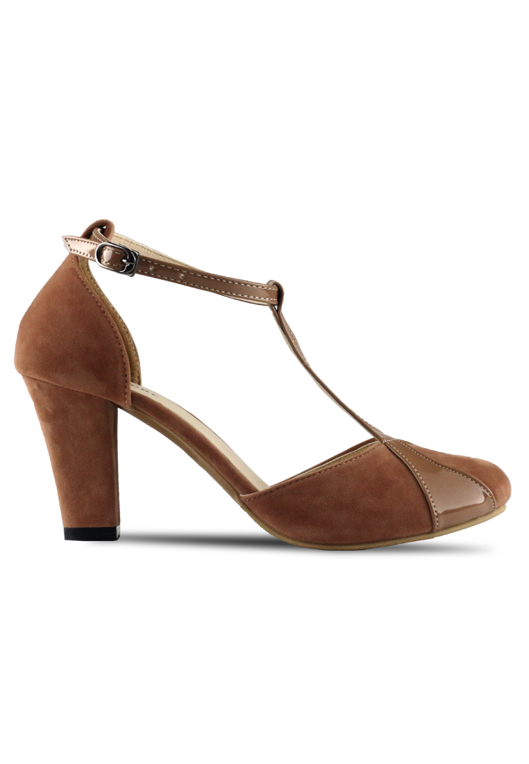 CLAYMORE Claymore sepatu high heels B 711B - Moca