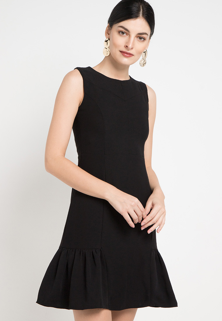Sleeveless Dress - Black - Cardinal