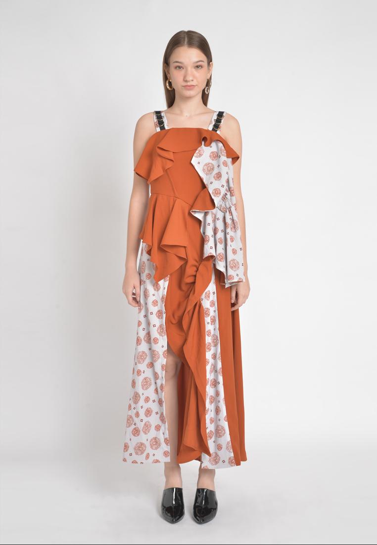 Bellvania Dress - orange - (X) S.M.L