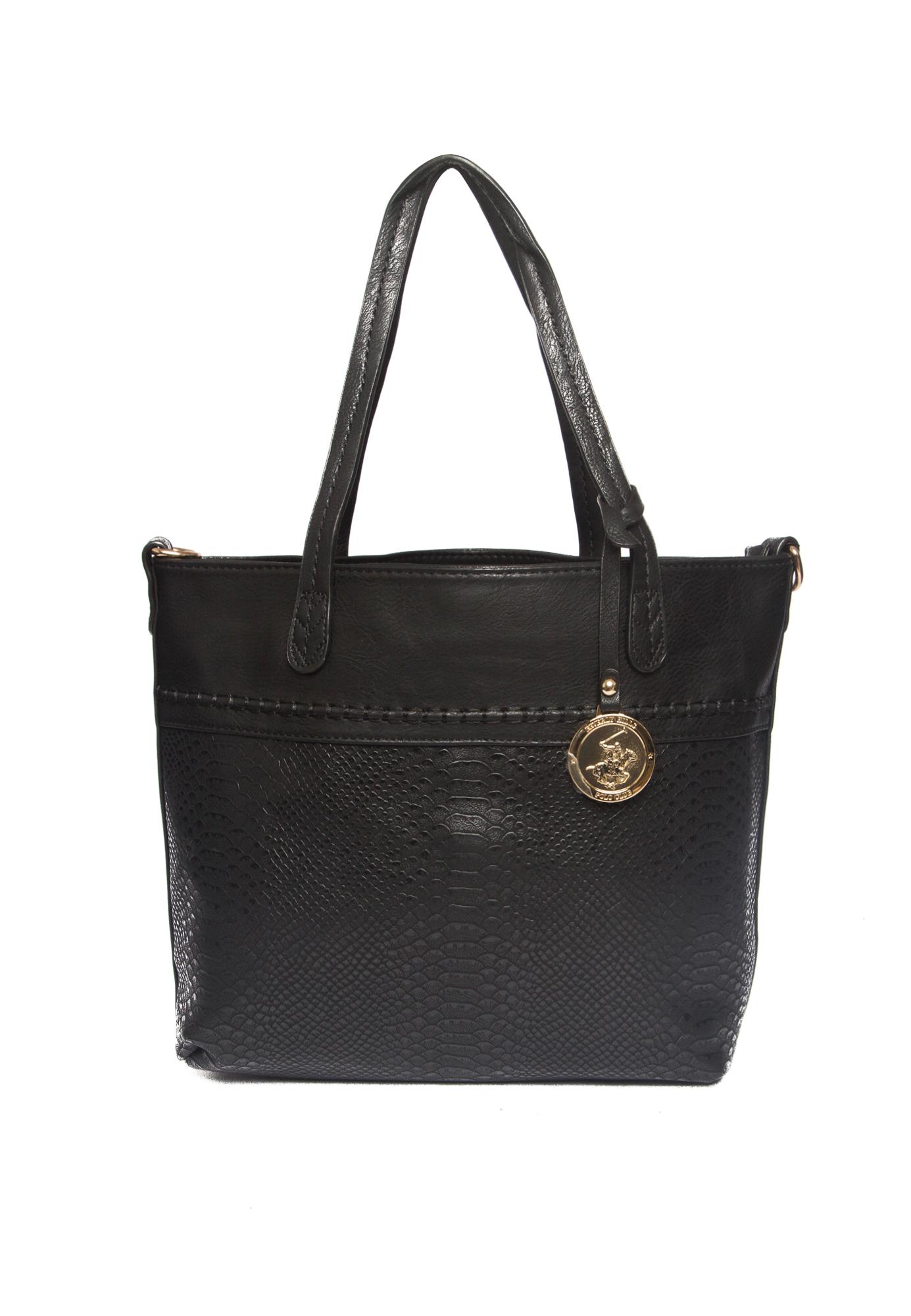 Beverly Hills Polo Club Beverly Hills Polo Club Stockard Hand Bag - Black