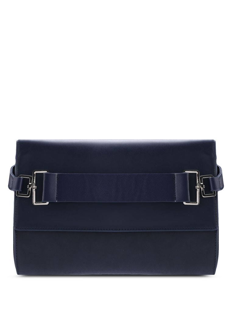 ZALORA Thick Strap Oversized Clutch