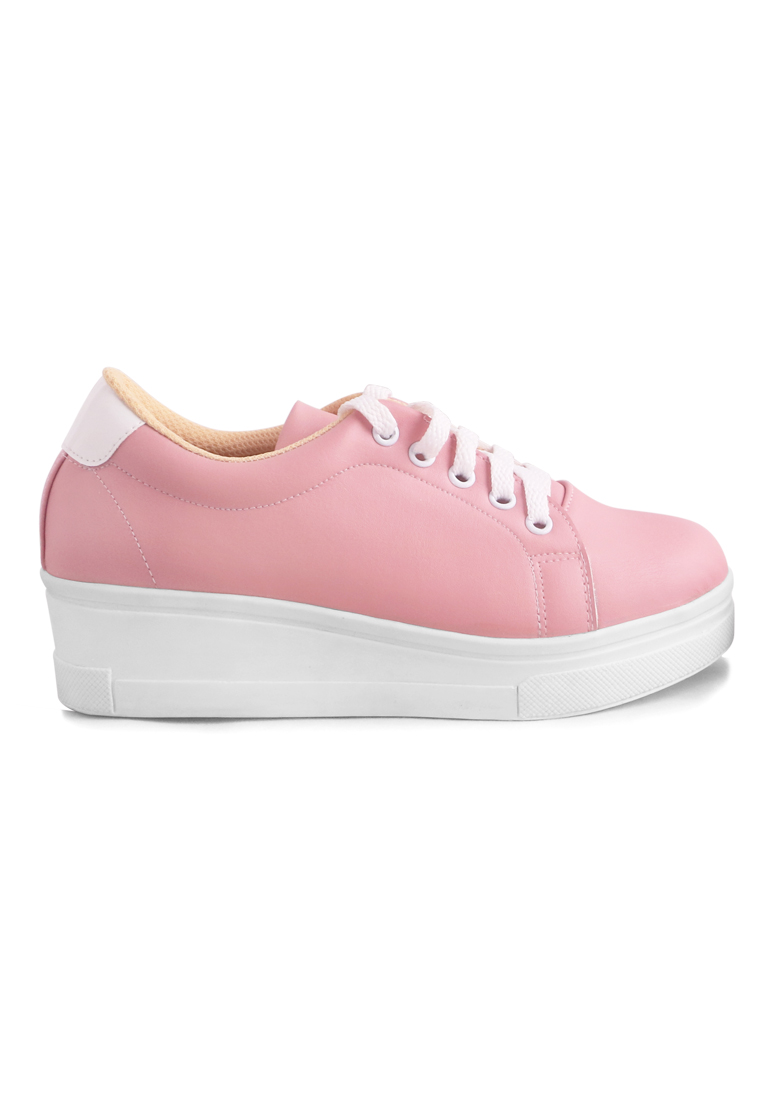 AliveLoveArts Alivelovearts Smith Pink Sneakers