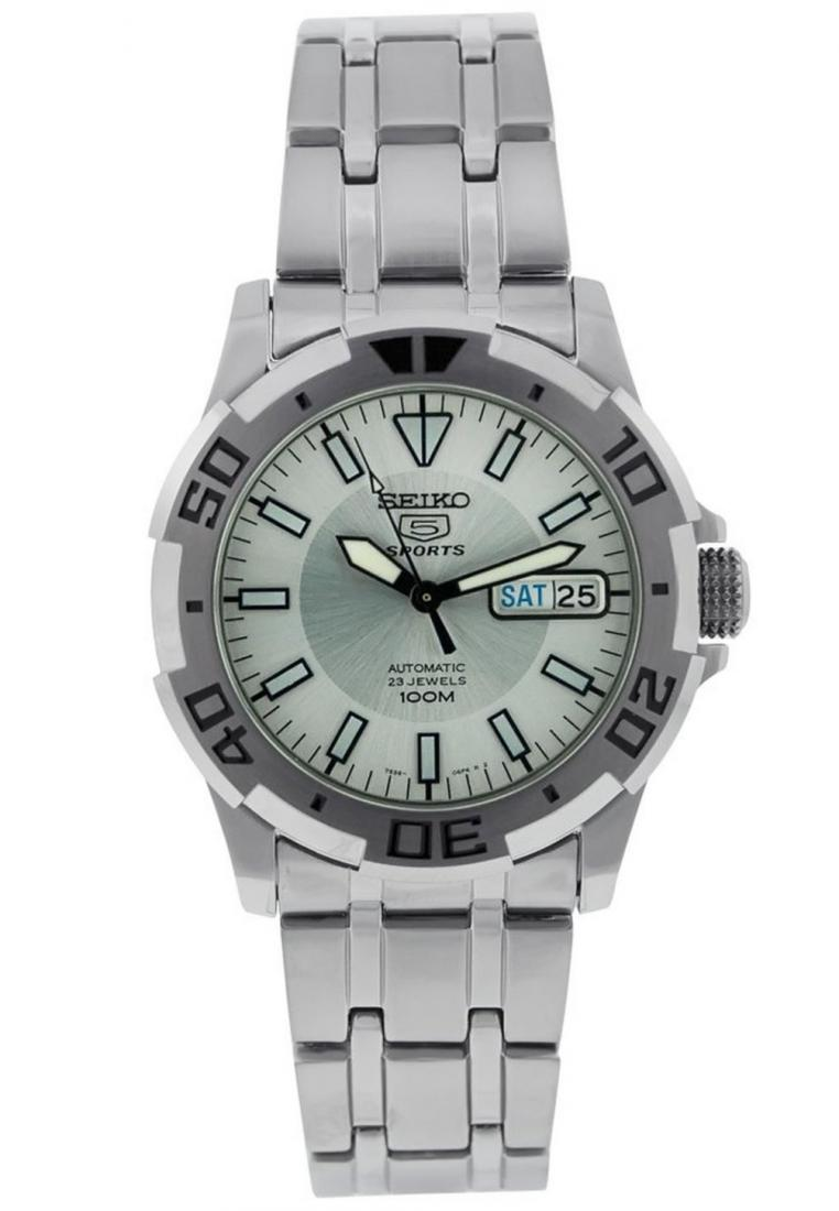 Seiko 5 Sports Jam Tangan Pria Srp599k1 Stainless Steel Silver Mens Srp681k1 Srp681 Automatic Source