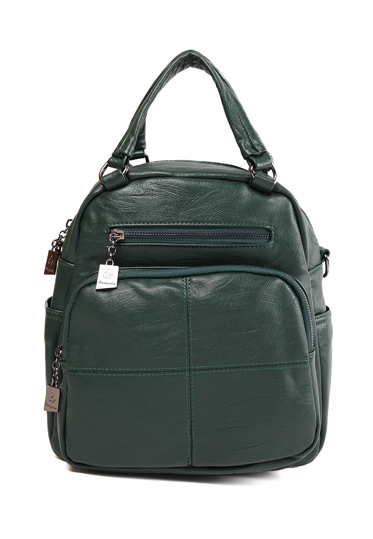 London Berry by HUER Carol 3 Ways Backpack