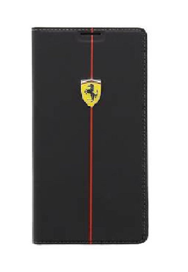 Ferrari Ferrari Booktype Case FEFORBBS5BL For Samsung S5 - Black