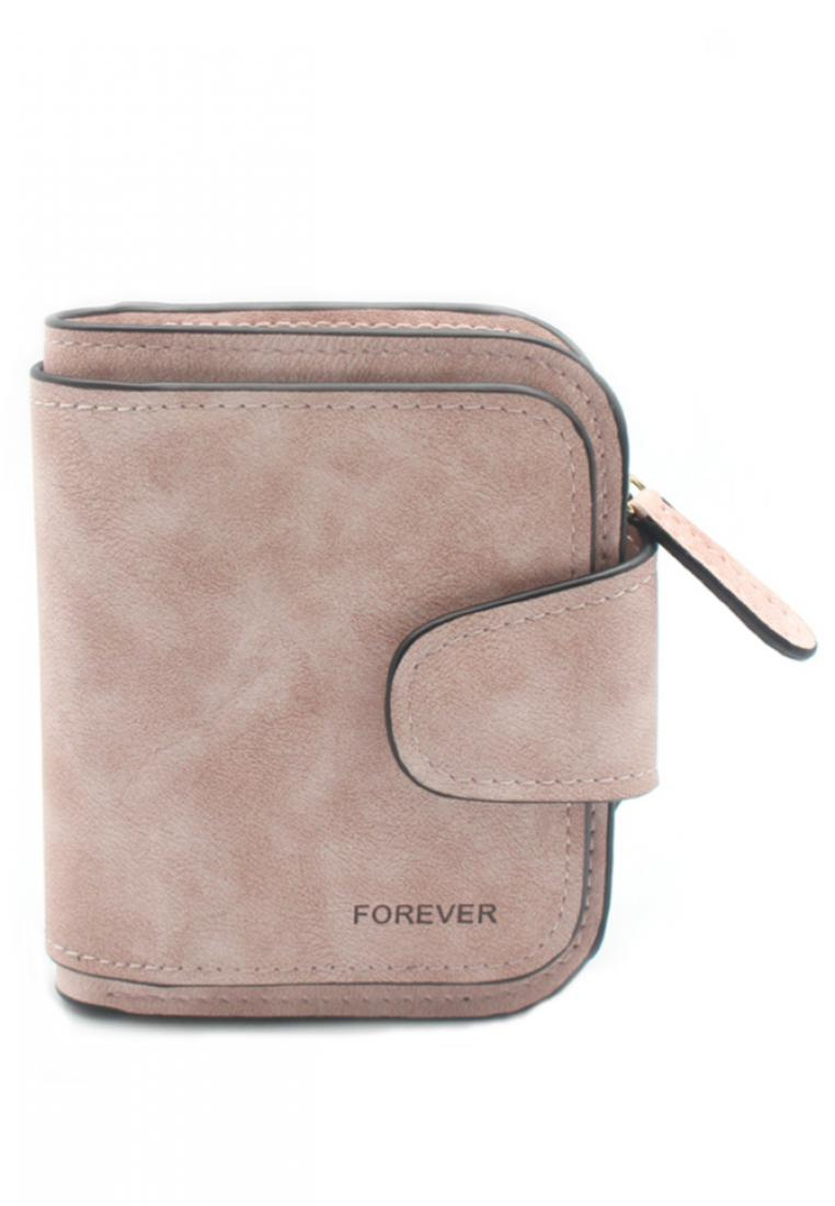 London Berry by HUER Forever 3 Layers Wallet