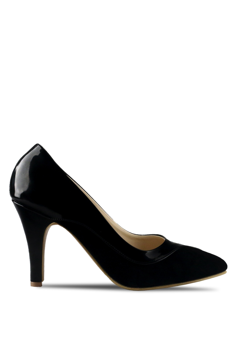 CLAYMORE Claymore sepatu high heels B 713T - Black