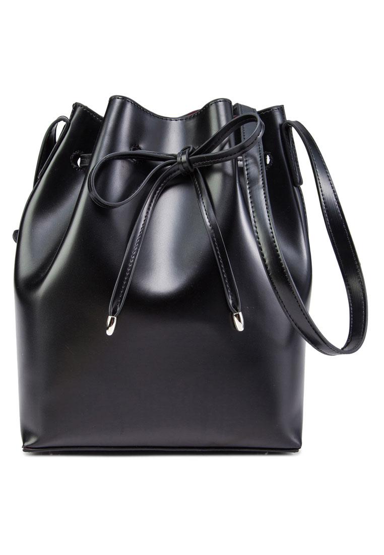 ZALORA Structured Bucket Bag
