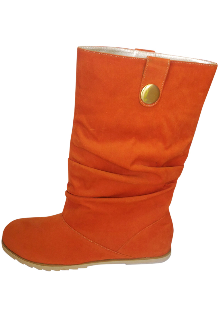 Vna Shoes Beatrix Boots Orange.
