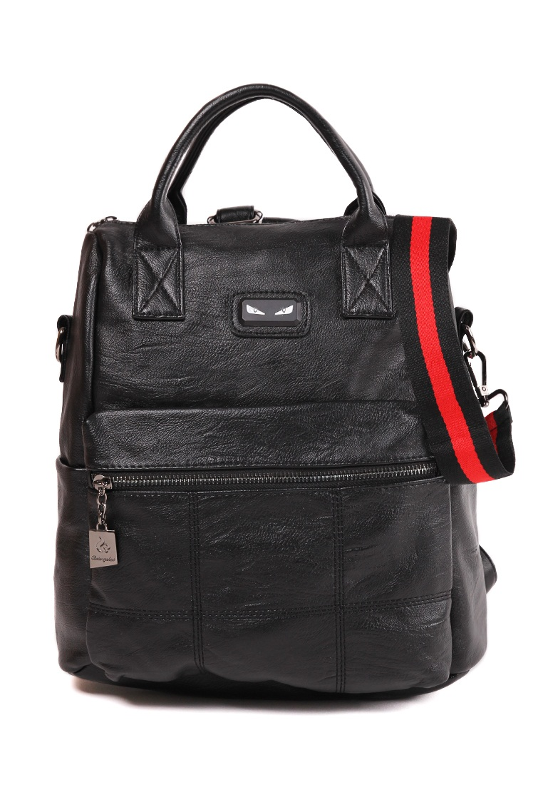 London Berry by HUER Dane 3 Ways Backpack