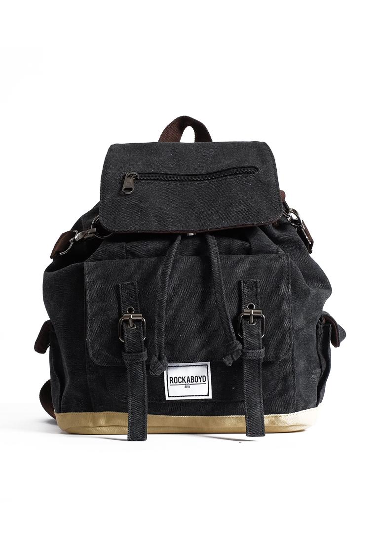 Rockaboyd Bianca Black Backpack
