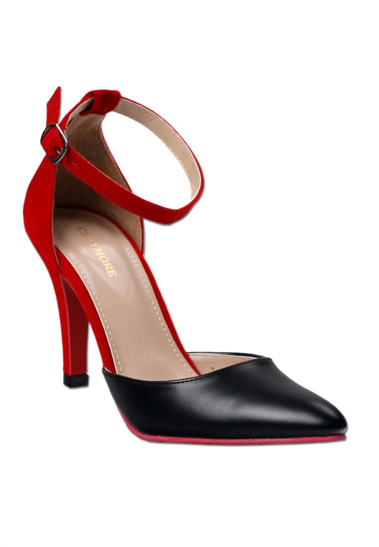 CLAYMORE Claymore High Heels 017 MZ - Black Red
