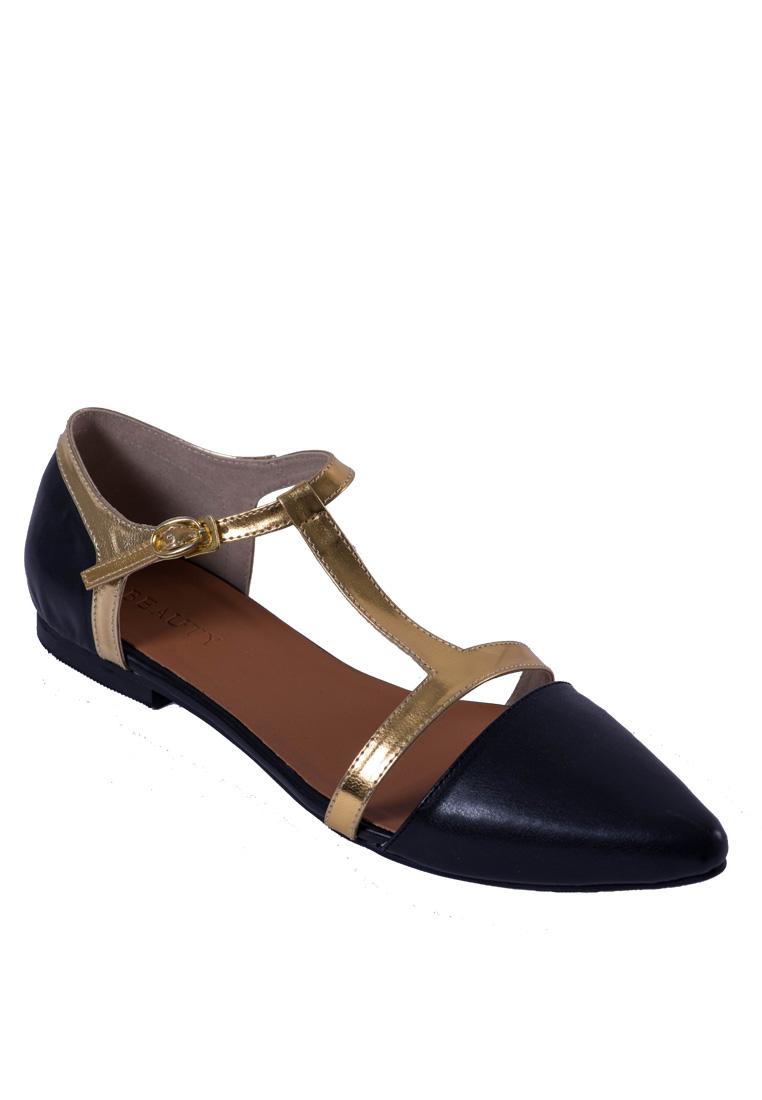 Beauty Shoes Savio Flats Black