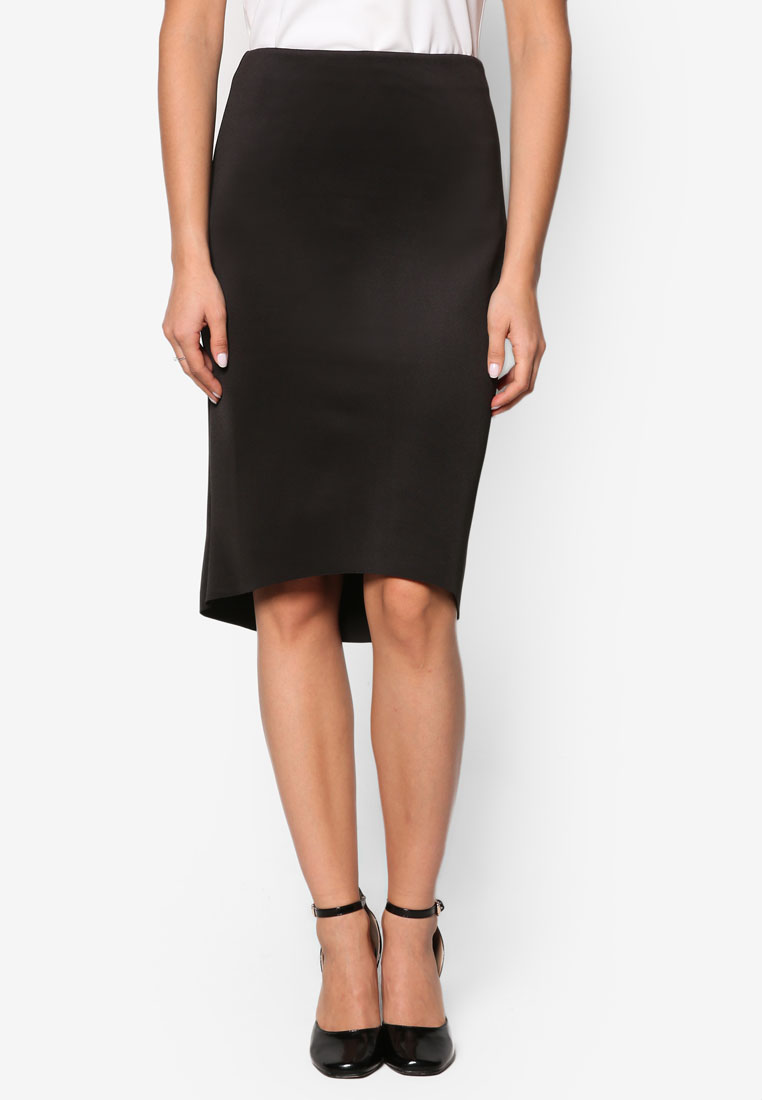 ZALORA Collection High Low Pencil Skirt