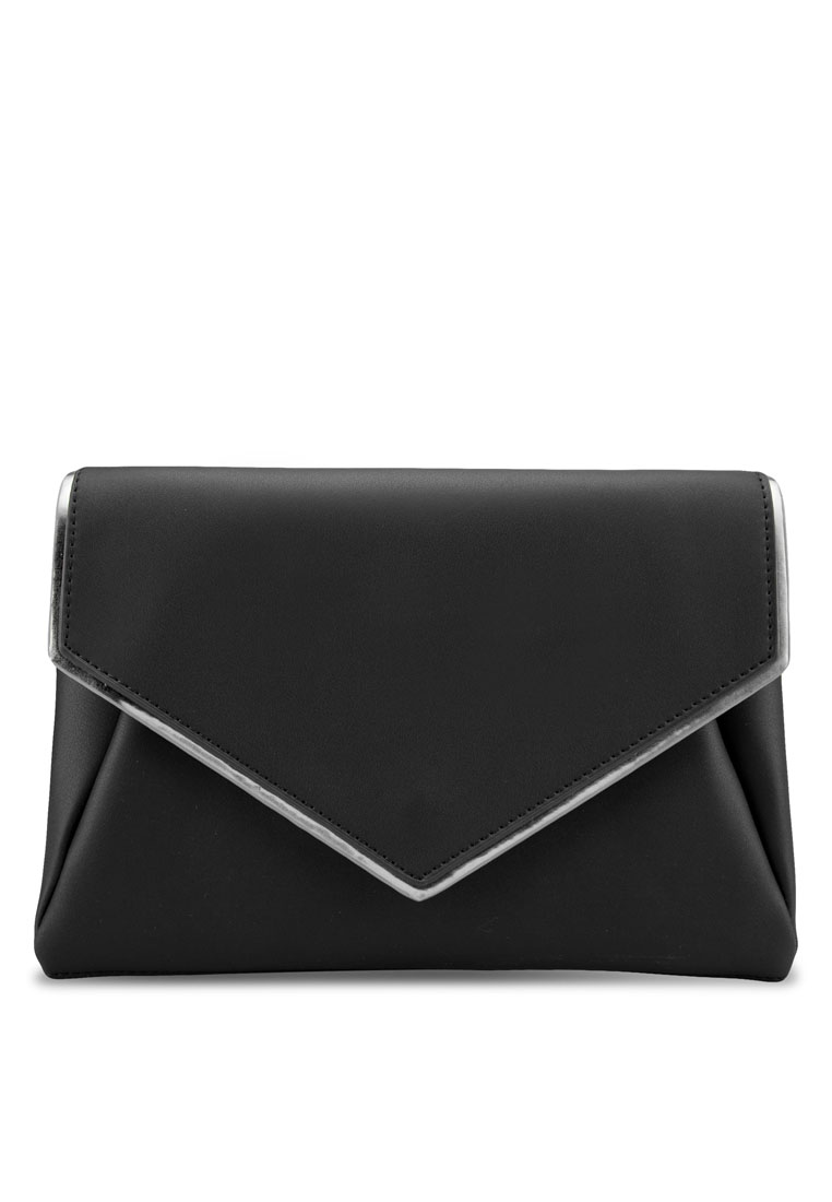 ZALORA Metallic Edge Envelope Clutch