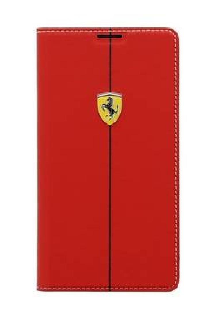 Ferrari Ferrari S5 Rubber Battery Book Cover FEFORBBS5RE- Red