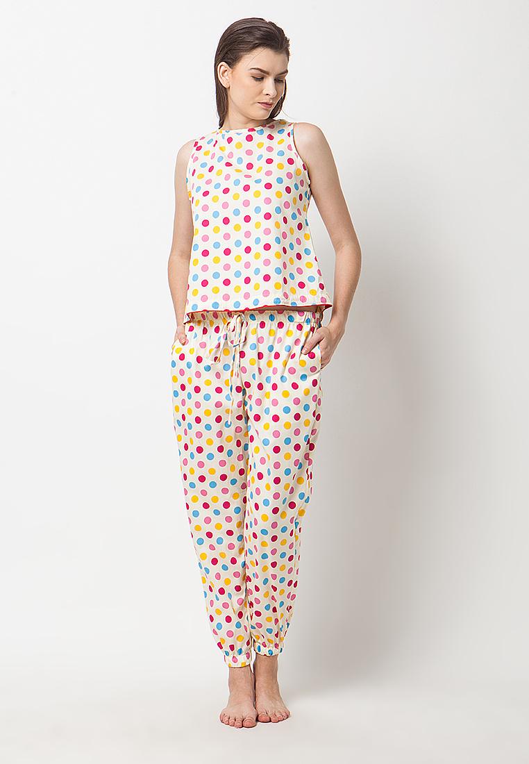 madeleine Madeleine`s Polki Joger pajamas
