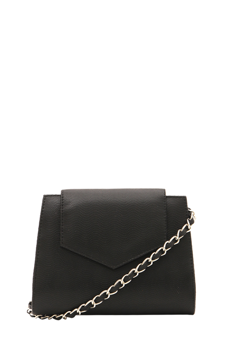Zorra Ixora Clutch Bag Black.