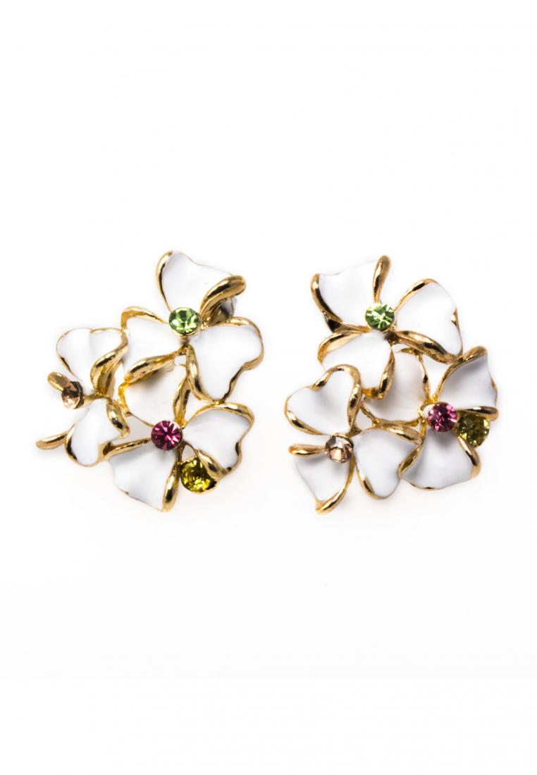 Toko Kurio Floral Bouquet Stud Earrings