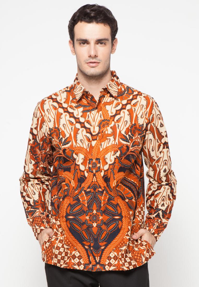 Kemeja Batik Motif Parang Seling Bokor By Danar Hadi