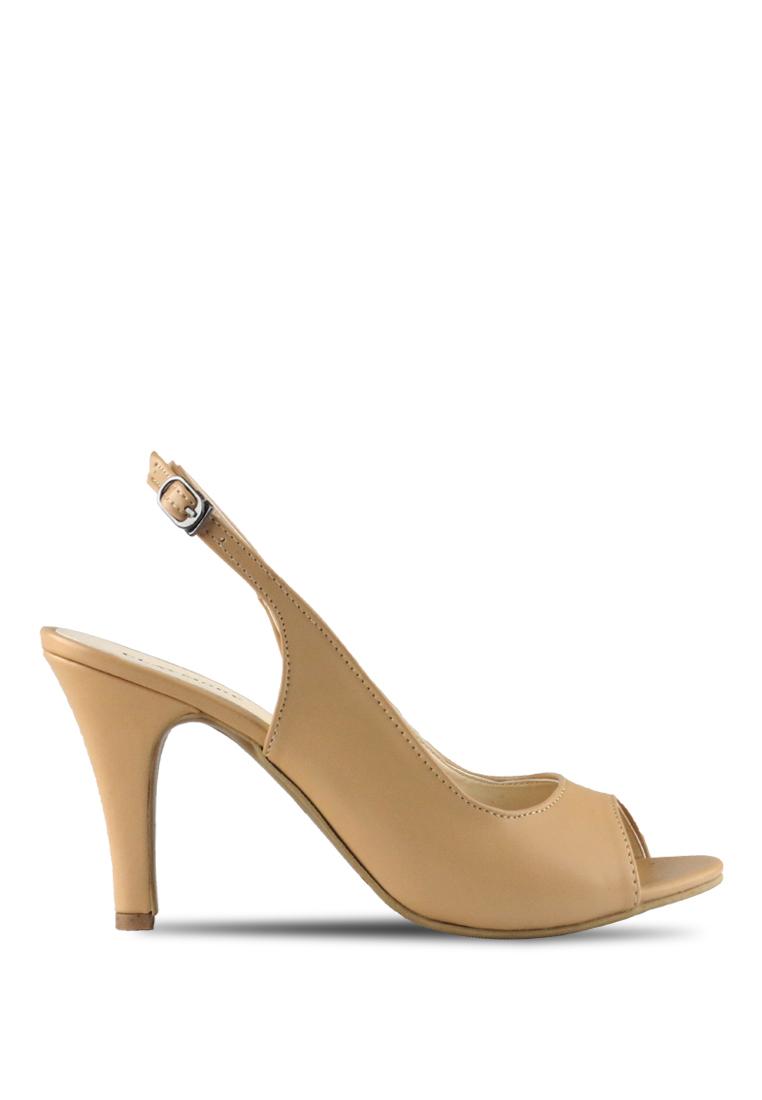 CLAYMORE Claymore sepatu high heels B 708T - Cream