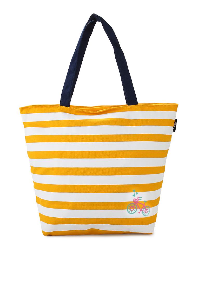 Ripples Sunshine Tote Bag