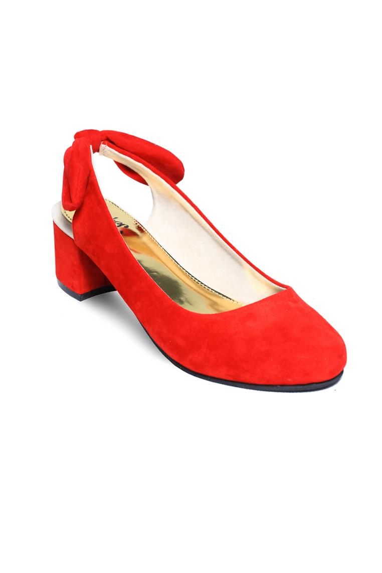 Urban Looks Stella Bow Red Heels