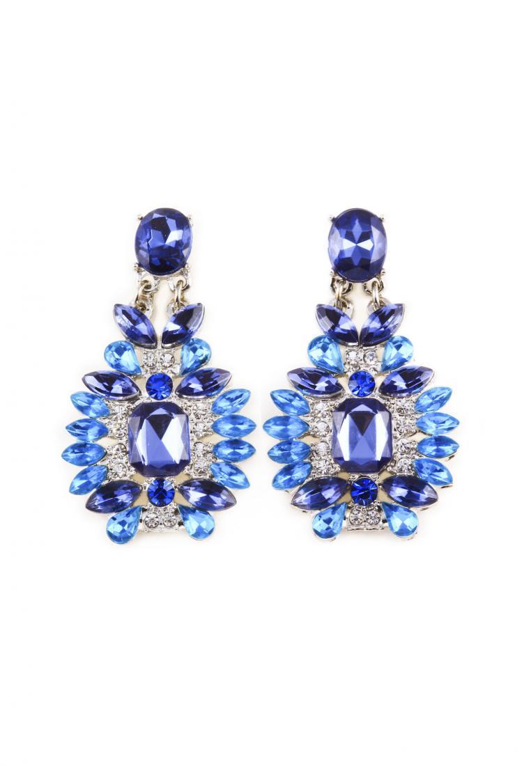 Toko Kurio Colossal blue caesar earrings