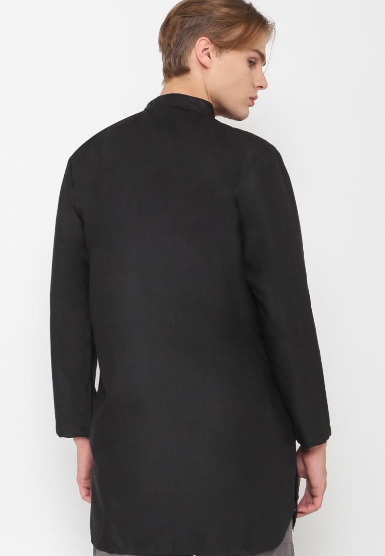 Baju Gamis Pakistan hitam