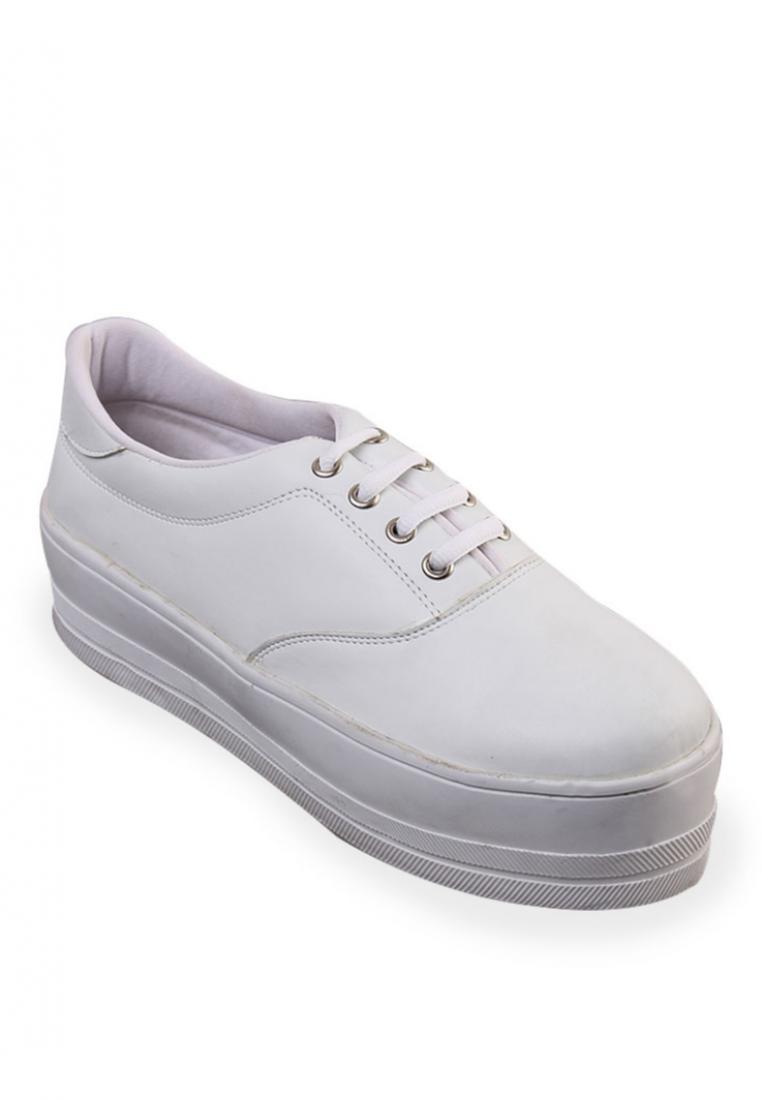 Edberth Sepatu Sneakers Wanita - Edberth Cella White