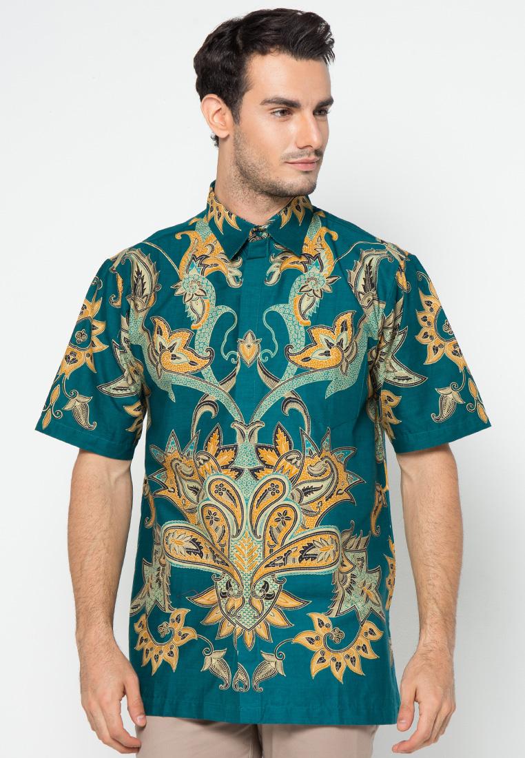 Kemeja batik print by danar hadi me1852 klikplaza online Baju gamis batik danar hadi