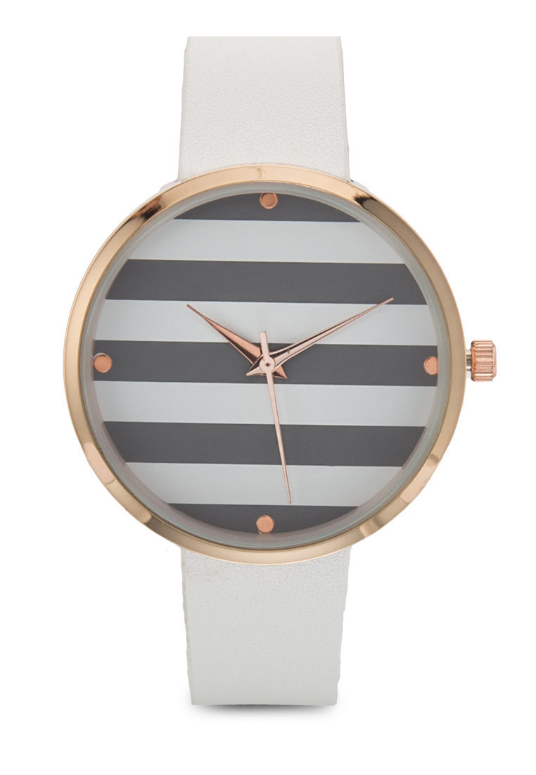 Something Borrowed Stripe Coloured Watch