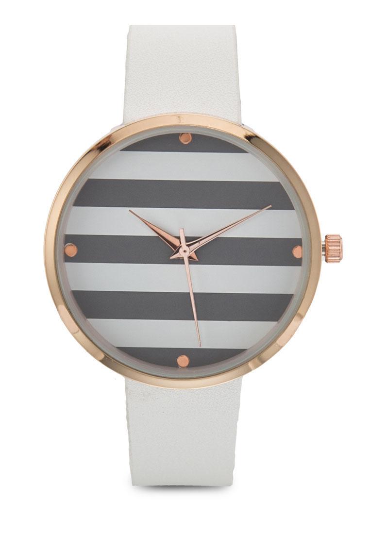 Something Borrowed Stripe Coloured Watch