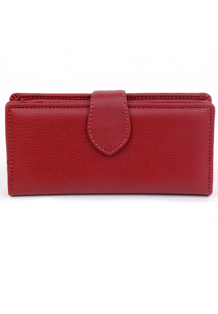 Baglis Palm Wallet - Dark Red