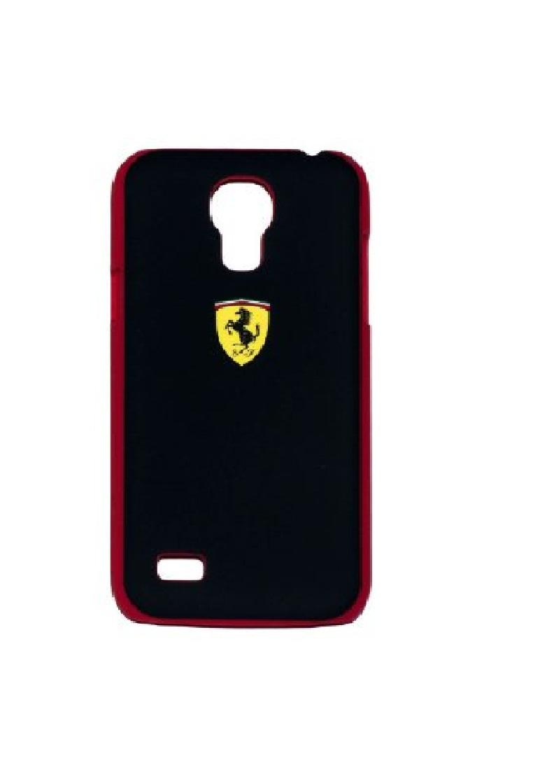 Ferrari Ferrari Mini Hard case Rubber For Iphone S4 FESCHCS4MBL-Black