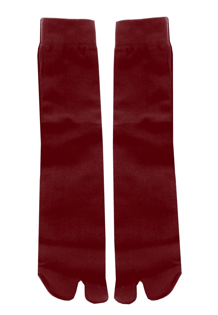 Soka Soka Basic Jempol Pendek Merah Tua