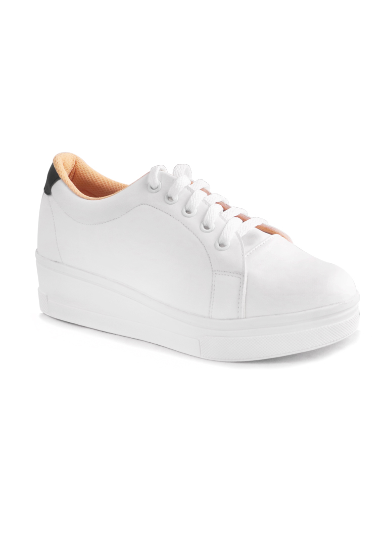 AliveLoveArts Alivelovearts Smith White Sneakers