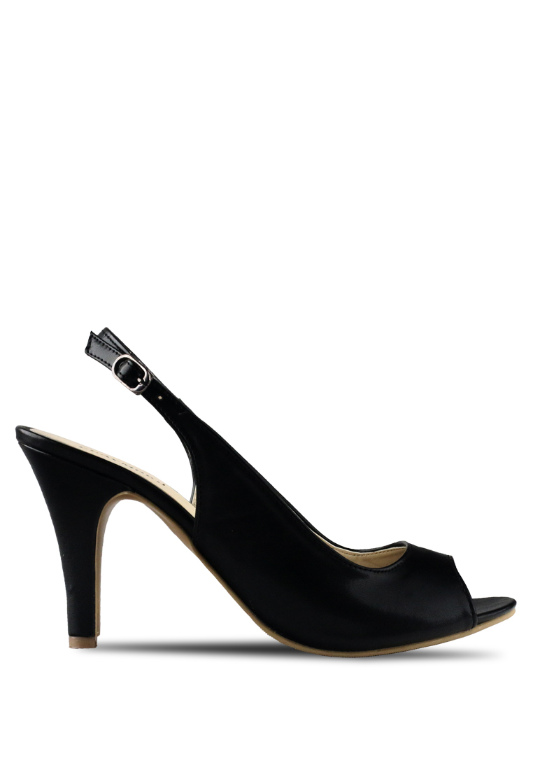 CLAYMORE Claymore sepatu high heels B 708T - Black