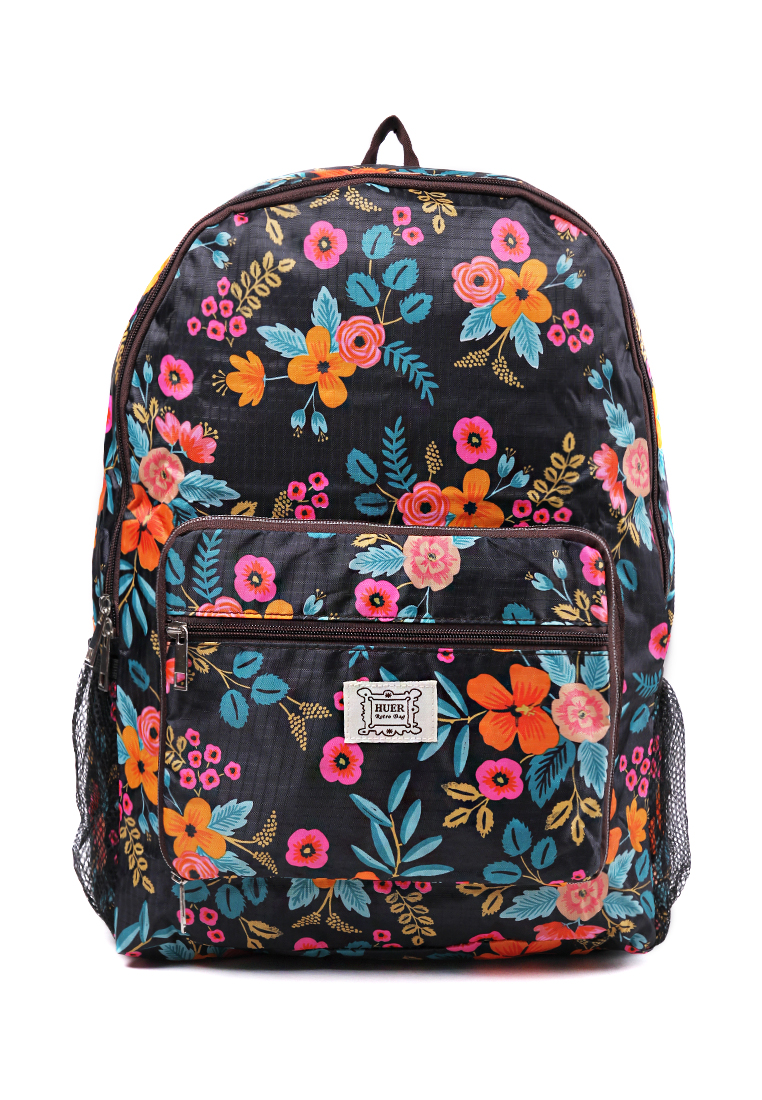 London Berry by HUER Rene Packable Backpack Large