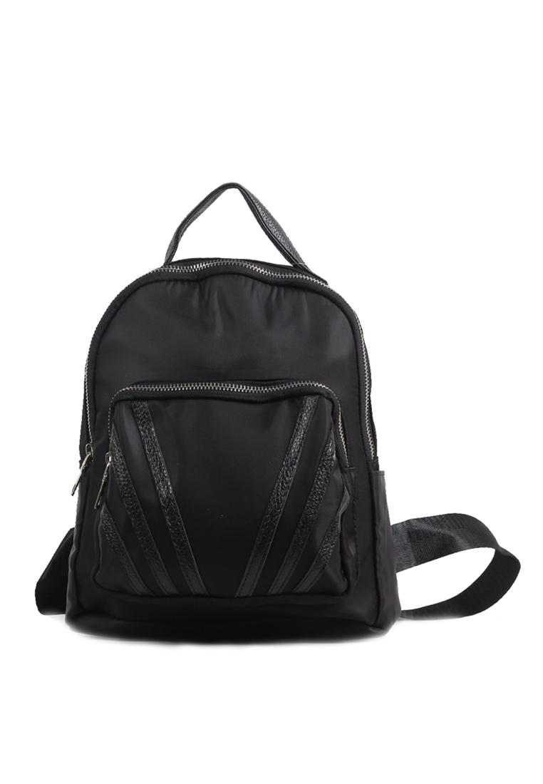 Naella Cute Backpack Black - Ceviro