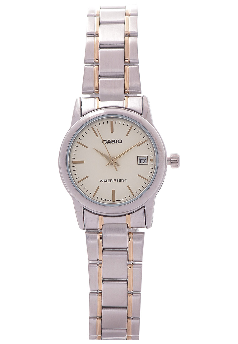CASIO Casio Round Watch Ladies Analog LTP-V002SG-9A