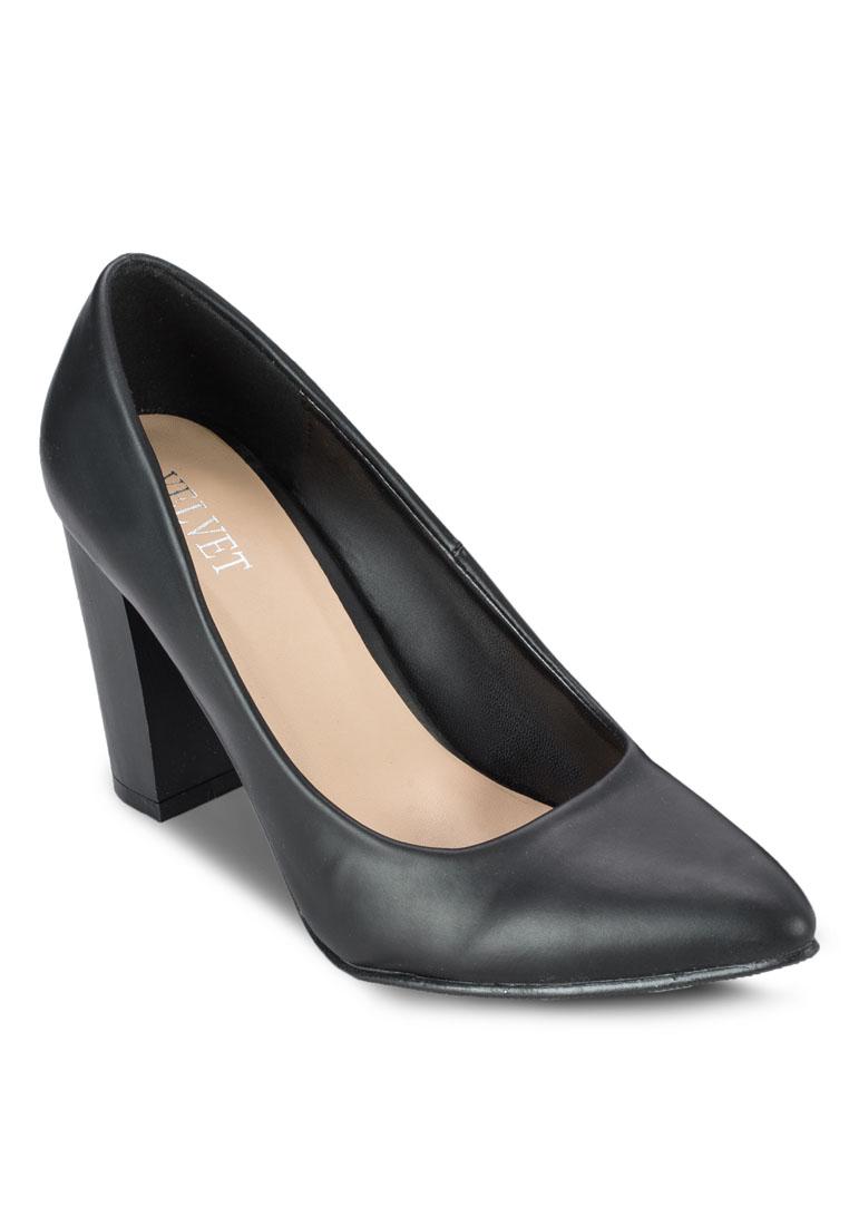 Velvet Zoe Pointed Front Heels