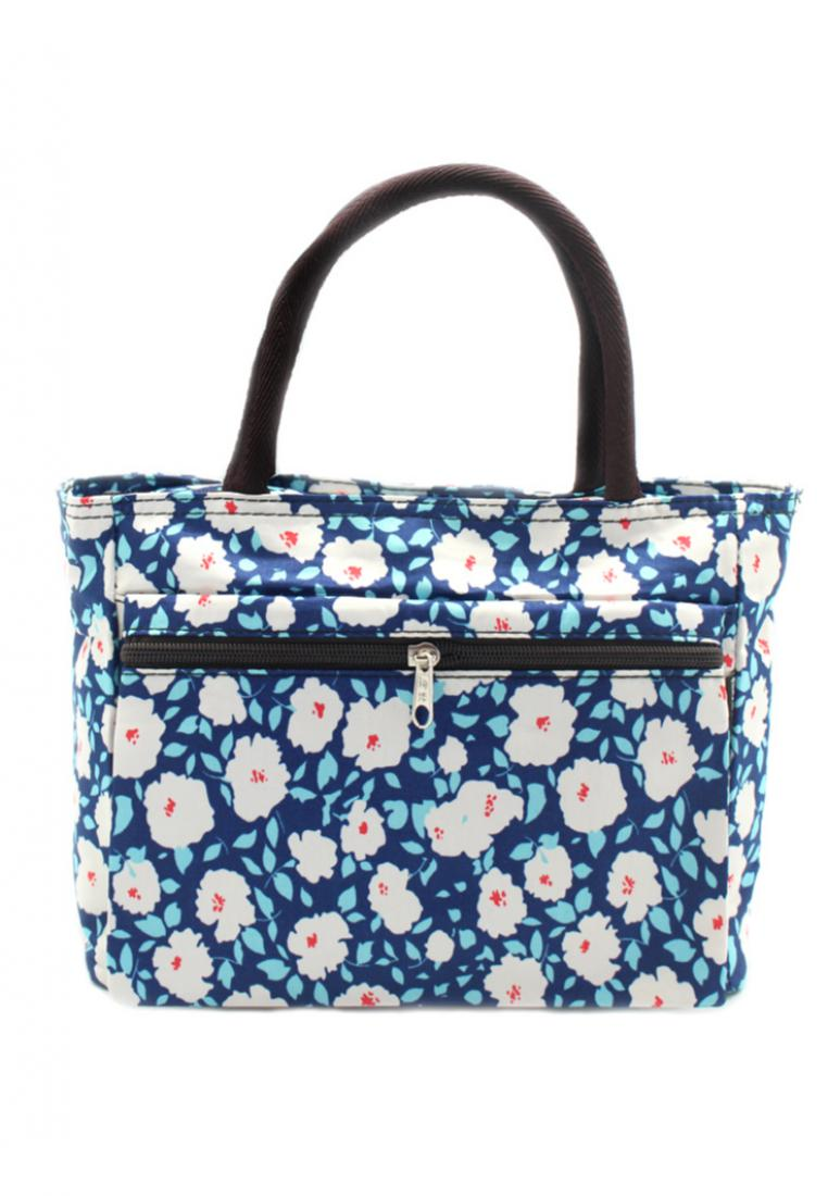 London Berry by HUER Orochi Mini Tote Front Pocket
